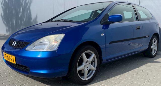 Honda Civic 1.4i Yumé LS|Airco|APK|NAP|Trekhaak|Blauw