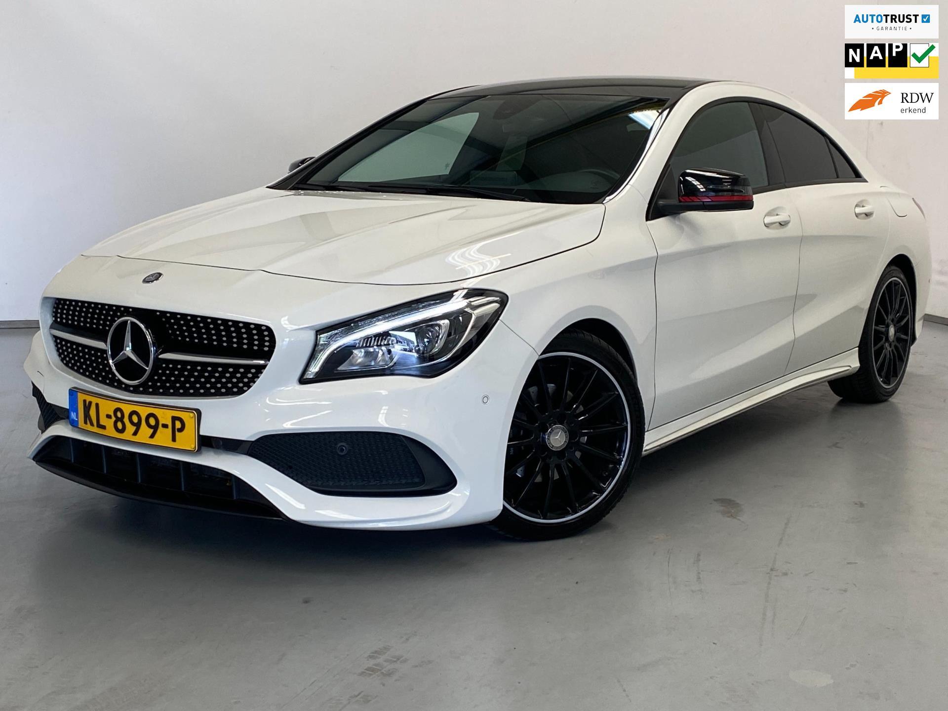 Mercedes-Benz CLA-klasse occasion - Van den Brink Auto's