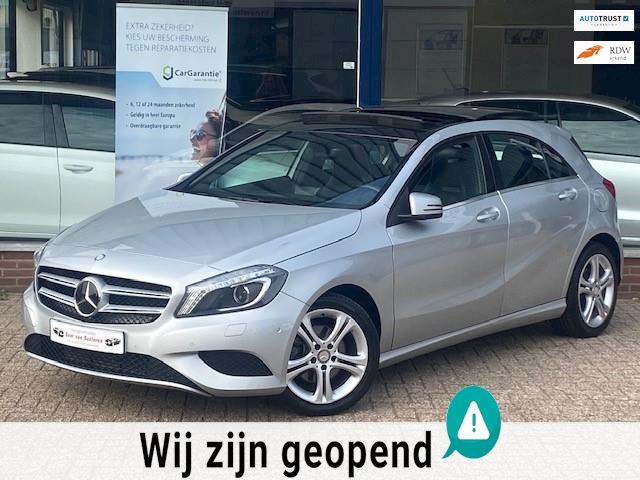 Mercedes-Benz A-klasse 180 Prestige! Panorama/Navi/Bi-Xenon/Leder/PDC/Airco/MTF-stuur/Stoelverwarming! Dealer OH/Topstaat!