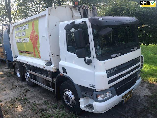 Daf FAG CF75 vuilniswagen  euro 5,  origineel 160000 km!