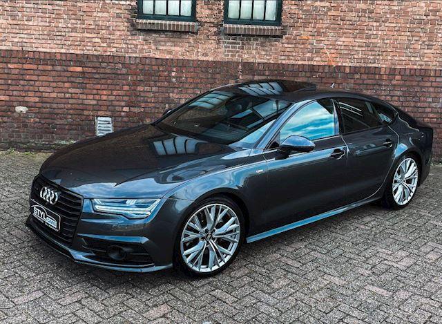 Audi A7 Sportback 3.0 TDI quattro Pro Line Plus S-LINE camera v/a- schuifdak-20inch velgen-