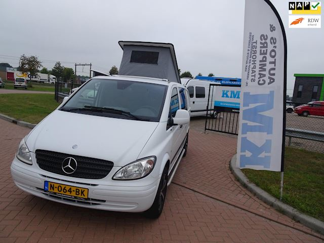 Mercedes-Benz 639 VITO 111 CDI mooie vito automaat buscamper basic bj 2007 weinig kilometers inr mog