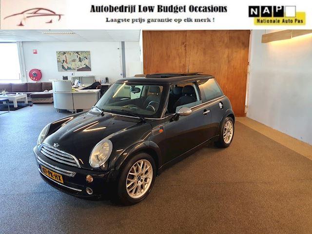 Mini Mini 1.6 One sport,Apk Nieuw,Airco,E-Ramen,sport velgen,Panoramadak,Automaat,N.A.P,Topstaat!!