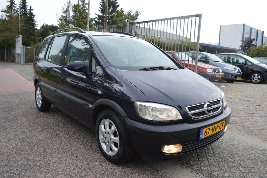 Opel Zafira occasion - Auto Eemvallei