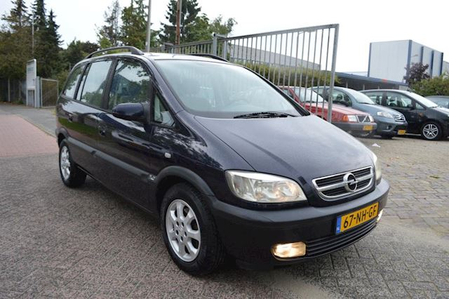 Opel Zafira 1.8-16V Elegance bj03 automaat dealer onderhouden