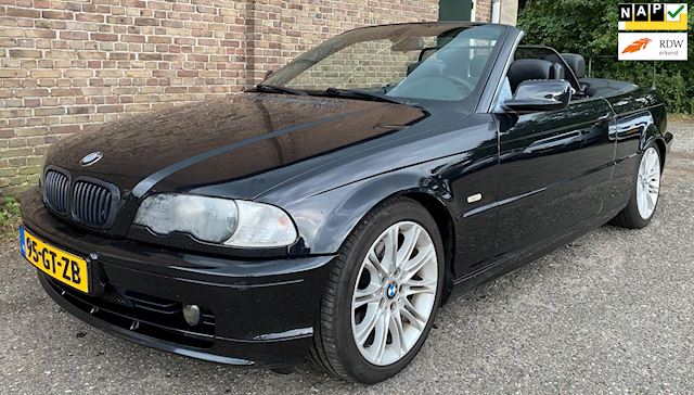 BMW 3-serie Cabrio 320Ci Executive 2001 CABRIO CRUISE AIRCO
