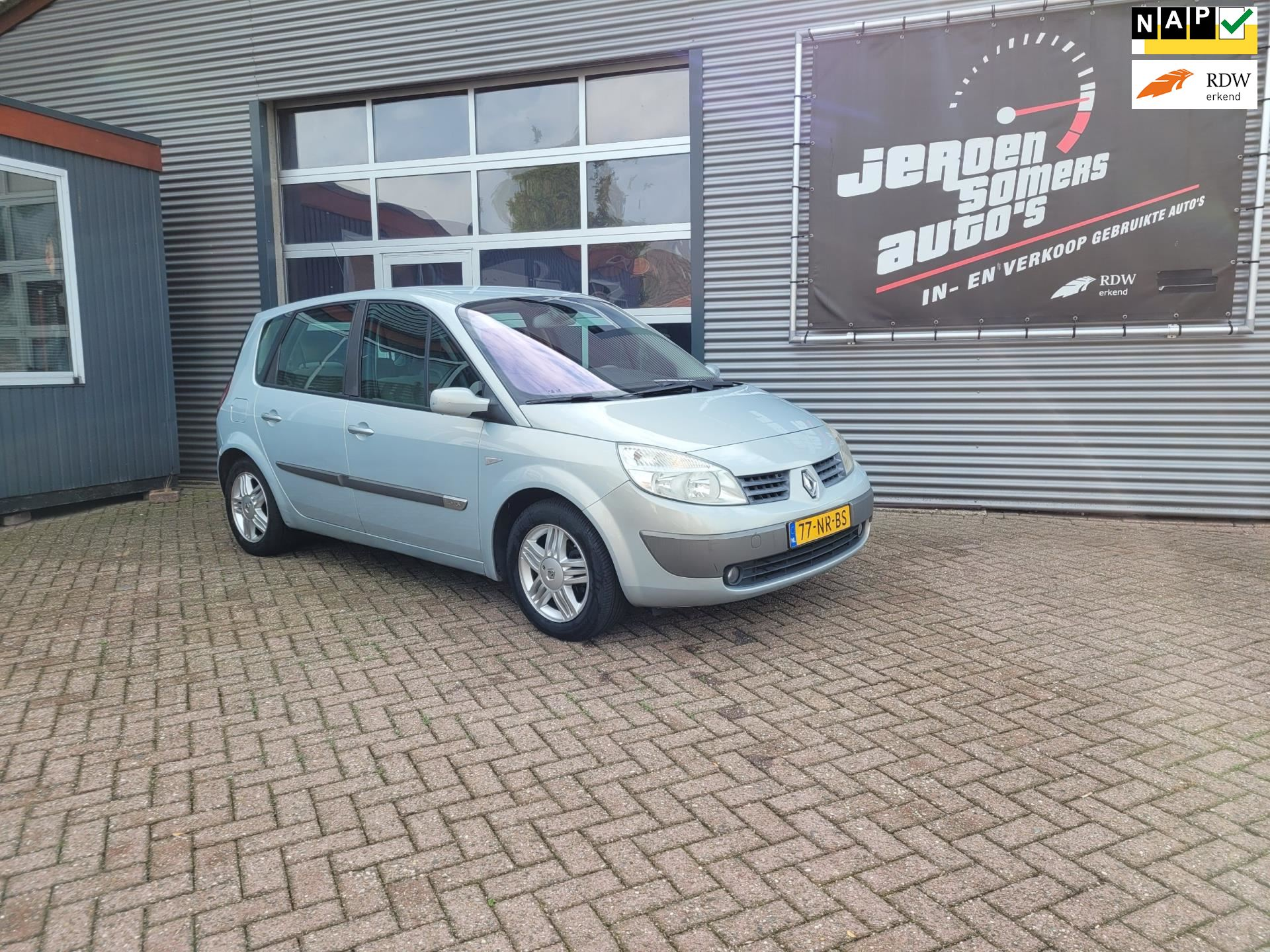 Renault Scénic occasion - Jeroen Somers Auto´s