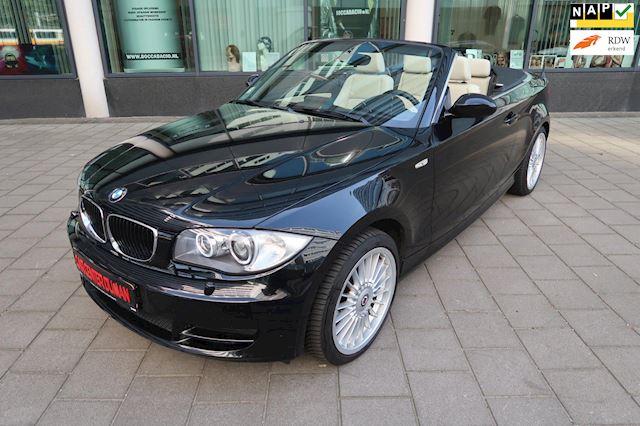 BMW 1-serie Cabrio 120d Leer Navi Xenon Clima Sportstoelen