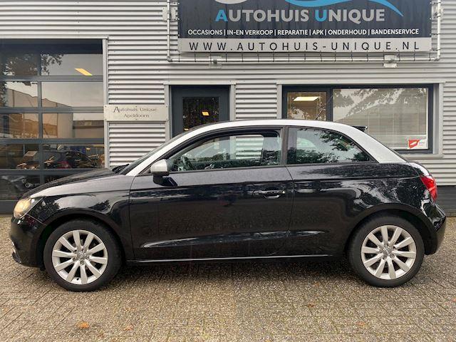 Audi A1 1.2 TFSI zwart, Navi, stoelverw. Mooie opties!  Nieuwstaat!!