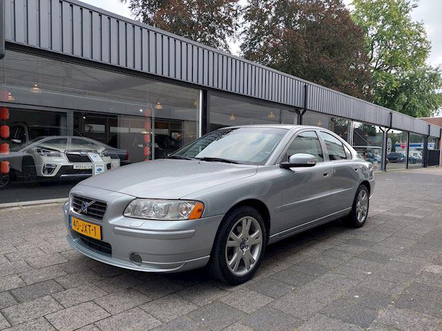 Volvo S60 2.4 Drivers Edition Dealer oh/163000KM/Twee eigenaren/Navi/Clima/Cruise/Leer/PDC/17 inch/Xenon/ Stoelverwarming