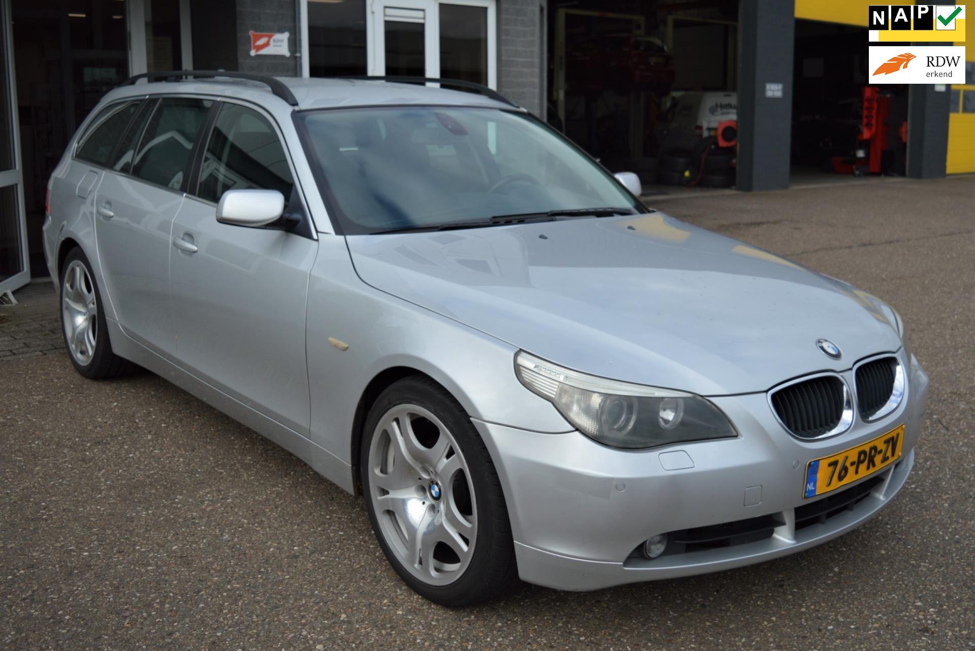 BMW 5-serie Touring occasion - Autobedrijf Ton Kerkhoffs Bv