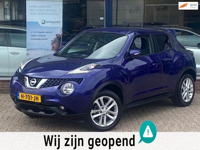 Nissan Juke 1.2 DIG-T S/S N-Connecta! Navi/Camera/Cruise/Airco ECC/Spoiler/MTF-stuur/LM velgen/LED! Topstaat/Dealer OH/Topstaat!