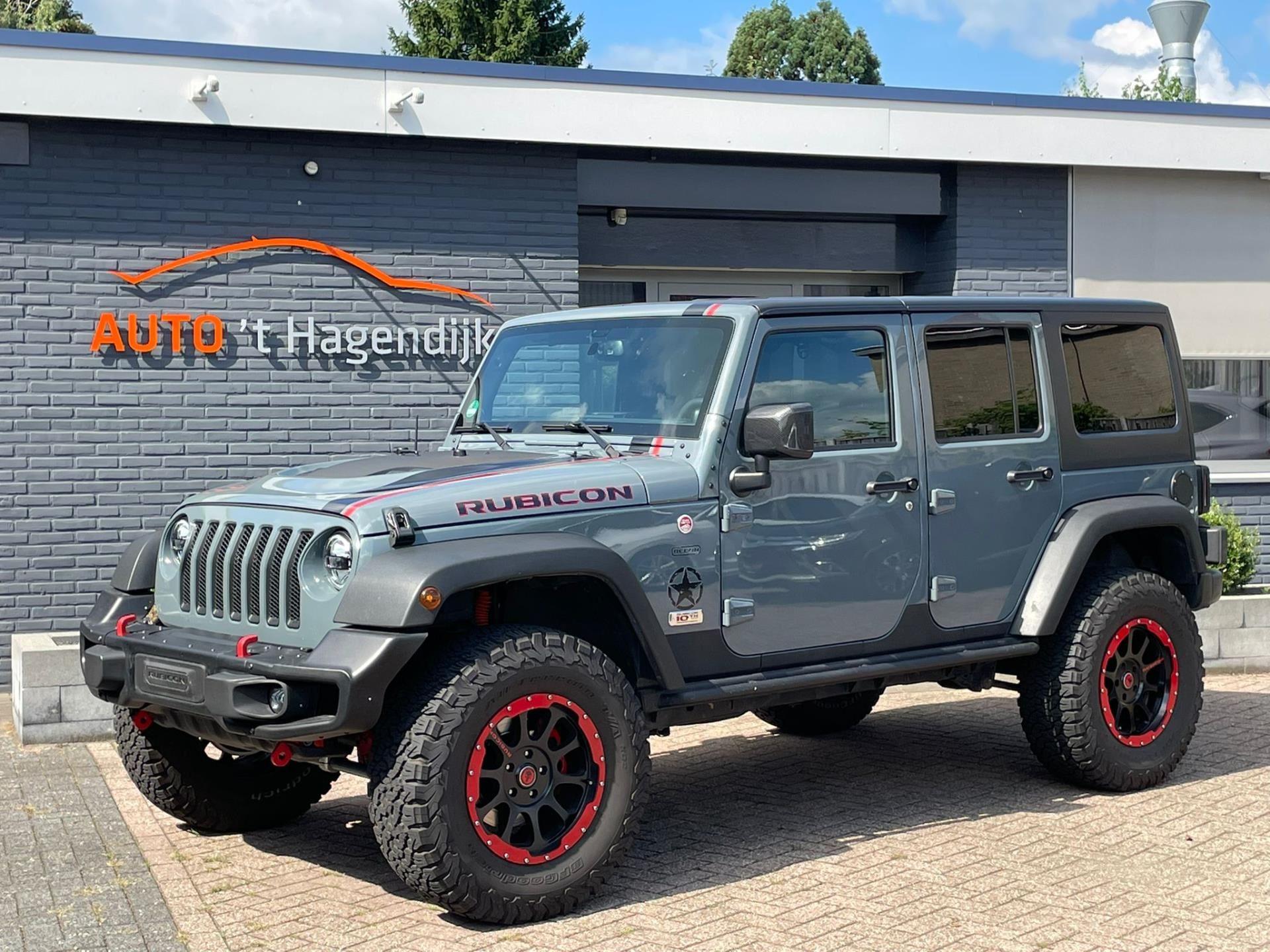 Jeep Wrangler Unlimited occasion - Auto 't Hagendijk