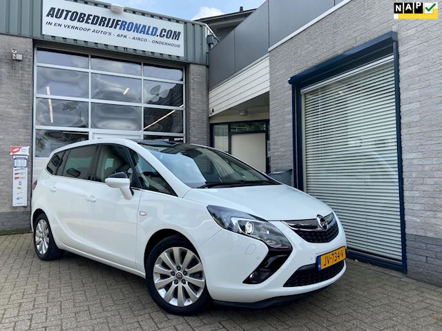 Opel Zafira Tourer 1.4 Innovation 7p.NL.Auto/Panoramadak/Leder/Trekhaak/Navigatie/1ste Eigenaar/Dealer onderhouden