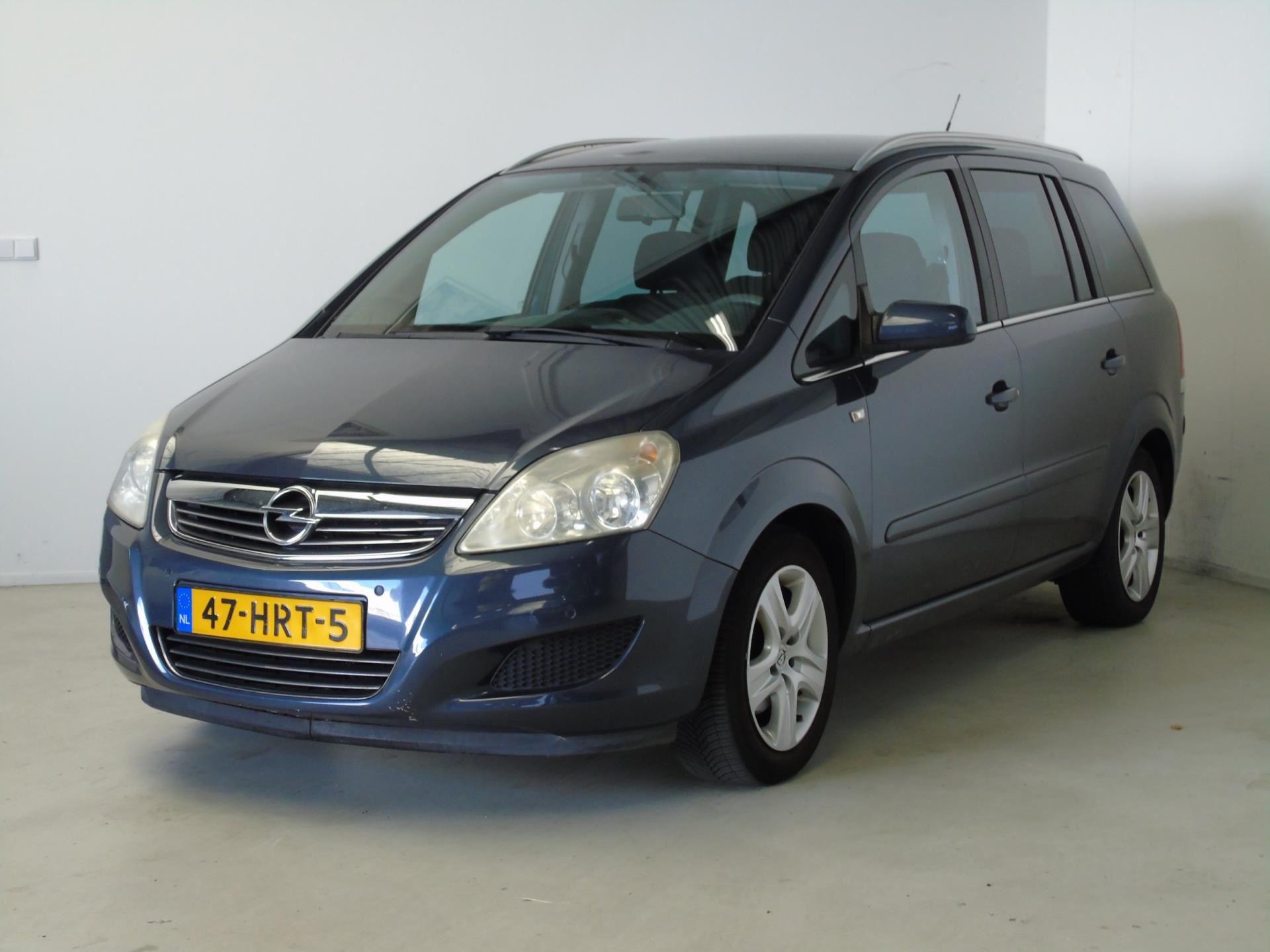 Opel Zafira occasion - van Dijk auto's