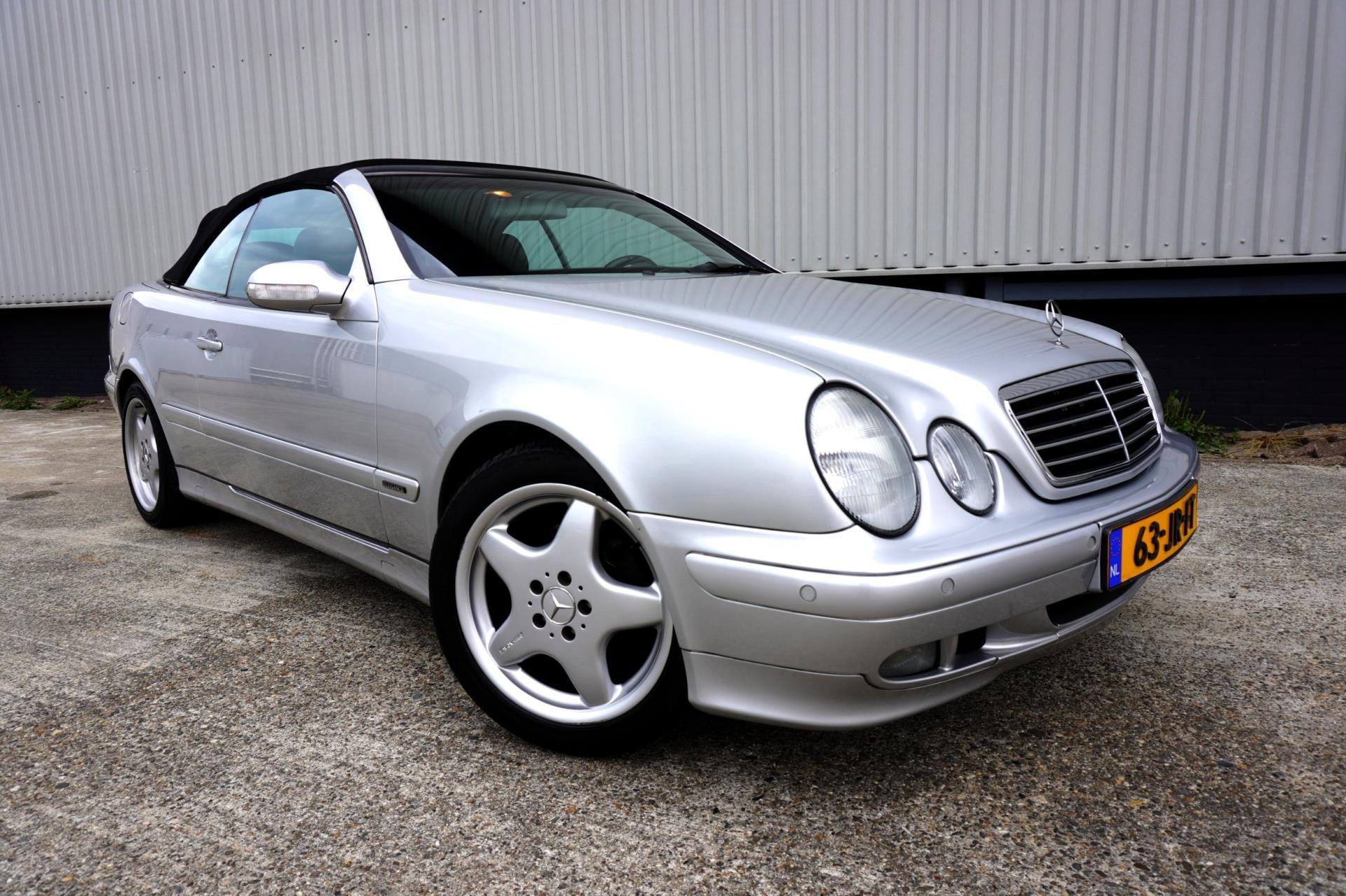 Mercedes-Benz CLK-klasse Cabrio occasion - Proautoverkoop
