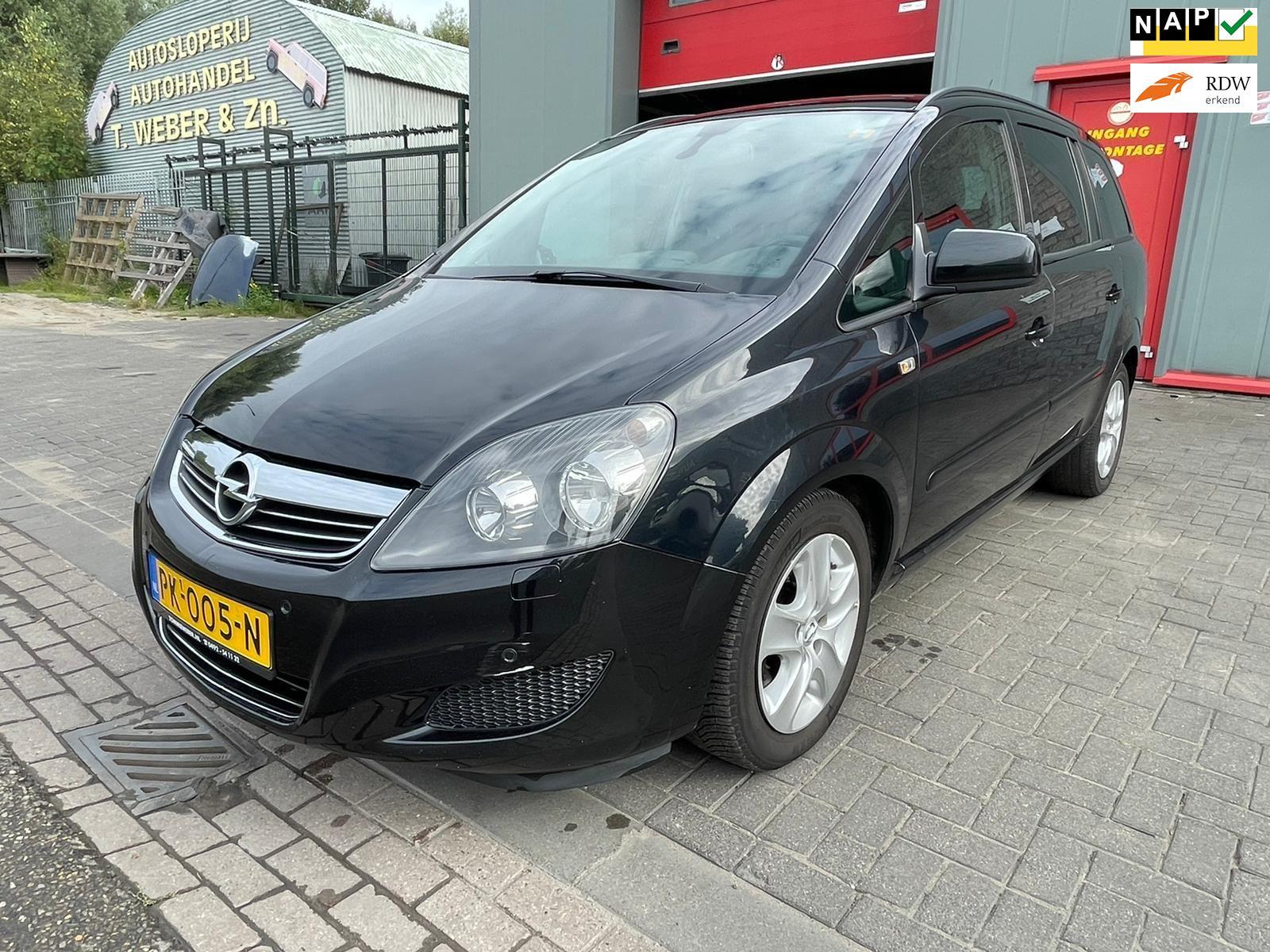 Opel Zafira occasion - Autobedrijf Tommie Weber & zn.