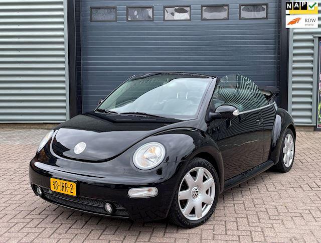Volkswagen New Beetle Cabriolet 2.0 AUT 2003 Zwart AIRCO
