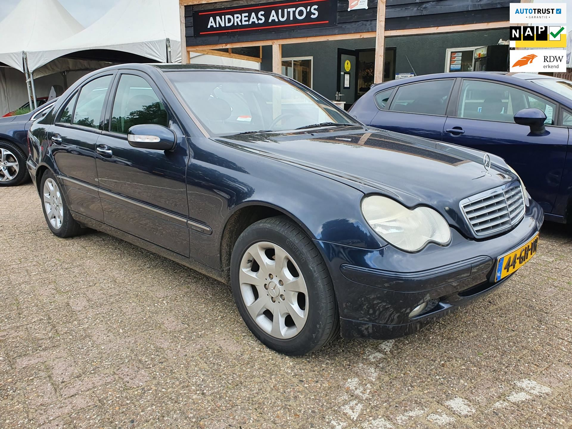 Mercedes-Benz C-klasse occasion - Andreas Auto's