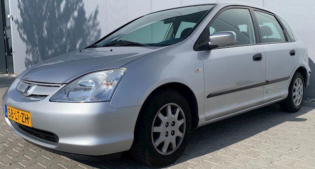 Honda Civic 1.4i LS|Airco|Nieuwe APK|NAP|5 Deurs|Zilver