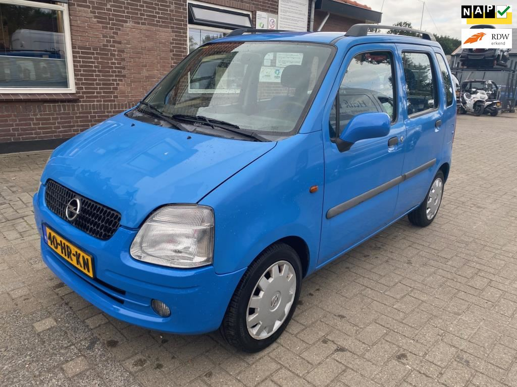 Opel Agila occasion - Autohandel H. van Olst