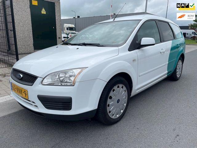 Ford Focus Wagon 1.6 TDCi Trend 2008/VAN/Grijs kenteken 207 DKM AIRCO!! Dealer onderhouden