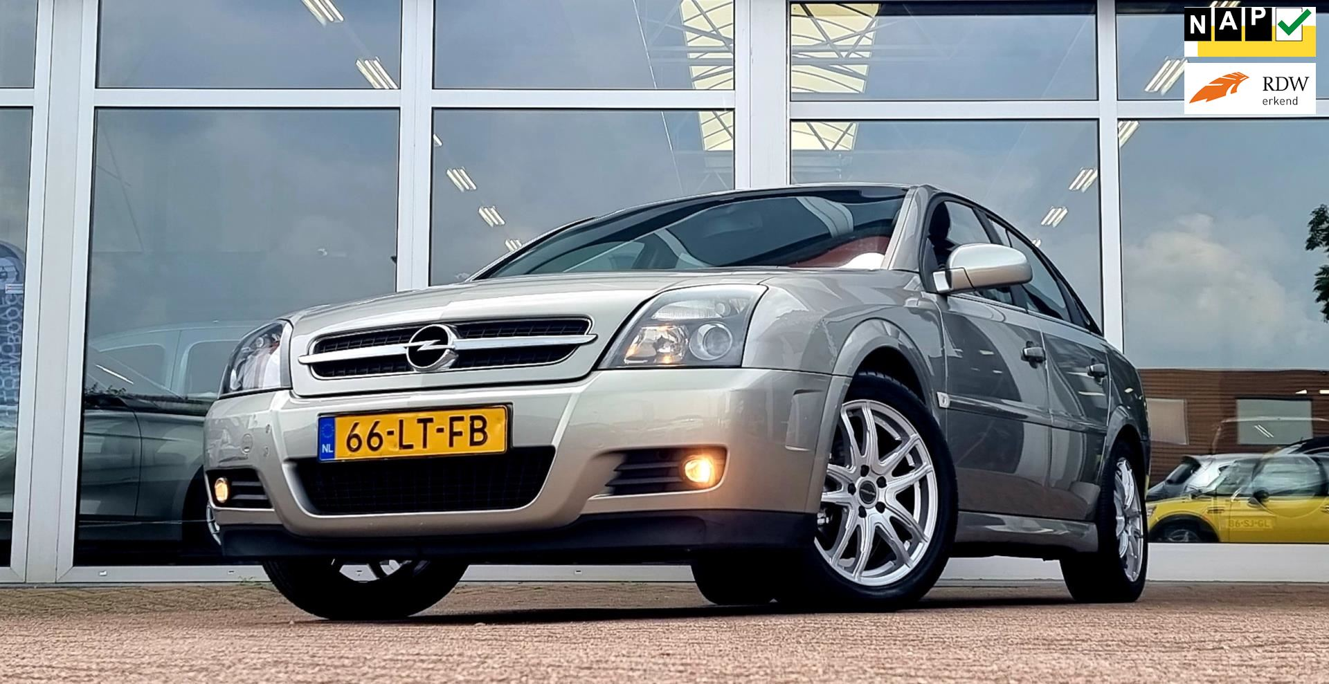 Opel Vectra GTS occasion - van den Boog Automotive