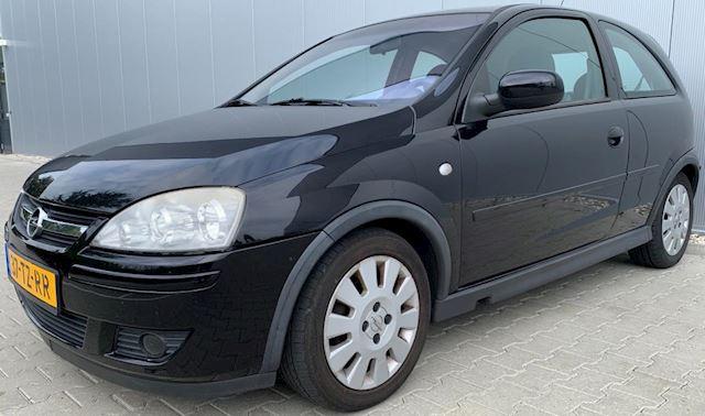Opel Corsa 1.2-16V Silverline|Airco|Nieuwe APK|NAP|Zwart