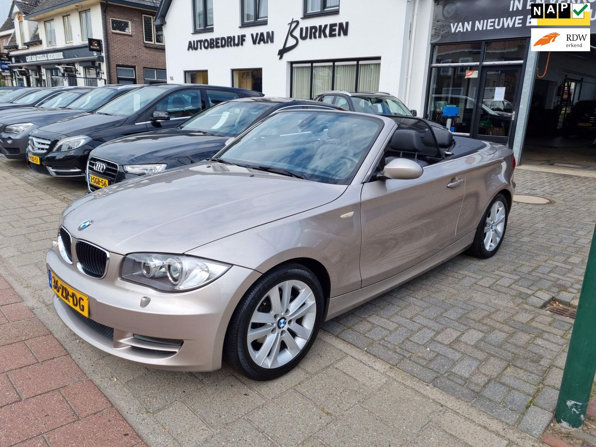 BMW 1-serie Cabrio occasion - Autobedrijf van Burken