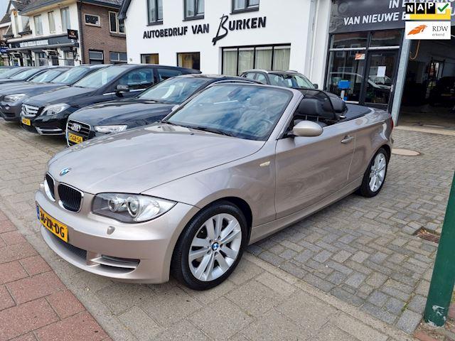BMW 1-serie Cabrio 118i Executive, Leren bekleding,Cruise control,Airco,L.M.Velgen,Electr.dak