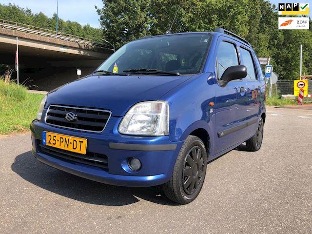 Suzuki Wagon R+ 1.3 GLX Automaat*2e eigenaar*Airco*Parksensor*Trekhaak*NAP*1JaarAPK*