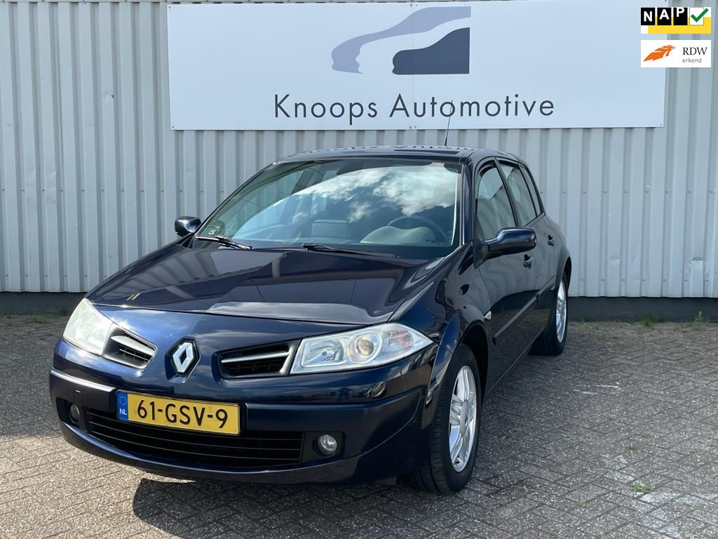 Renault Mégane occasion - Knoops Automotive