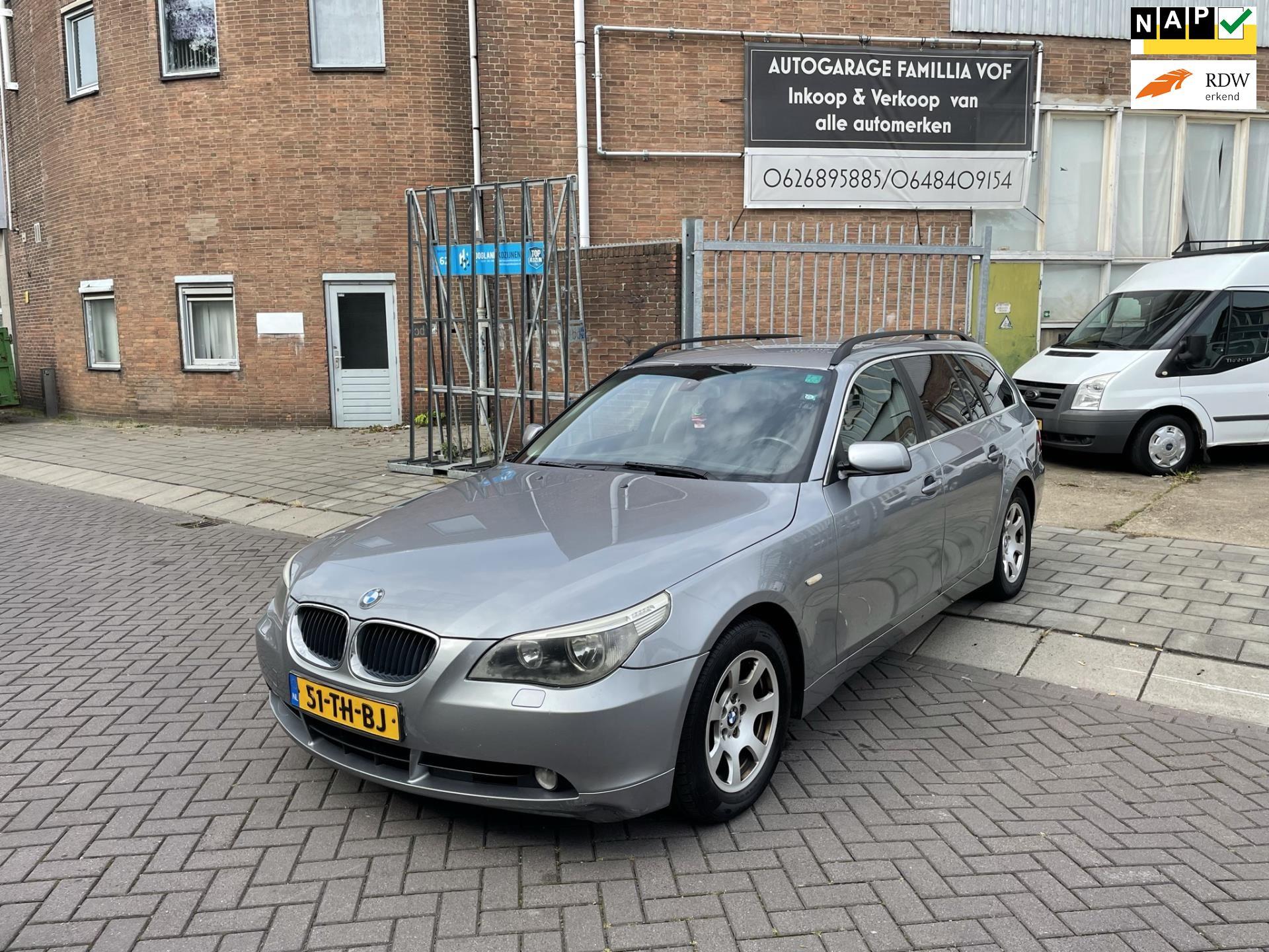 BMW 5-serie Touring occasion - Autogarage Famillia