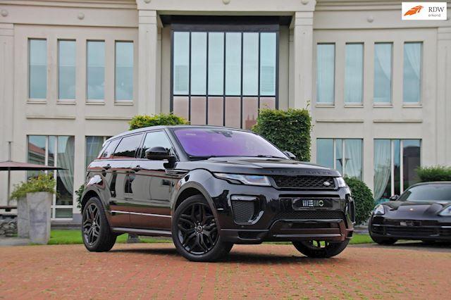 Land Rover Range Rover Evoque 2.0 TD4 Autobiography - Head up - Camera - Black on Black