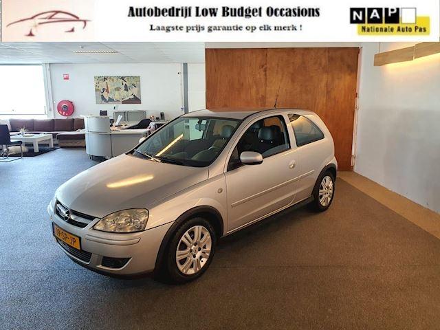 Opel Corsa 1.2-16V Silverline,Apk Nieuw,Airco,Cruise,Leder bekleding,Stoelverwarming,N.A.P,Full option!!