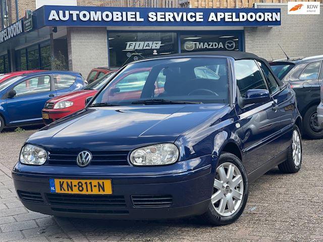 Volkswagen Golf Cabriolet 2.0 Trendline*AIRCO*STUURBEKR.*STOELVERW*LM.VELGEN* NETTE AUTO
