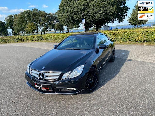 Mercedes-Benz E-klasse Coupé 350 CDI BLACK ON BLACK I PANO I LEER I XENON I NAVI I