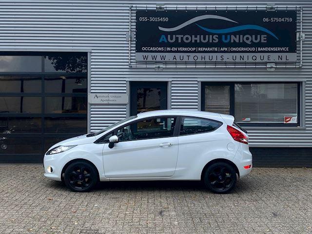 "Ford Fiesta ""Wit"" Lm Velgen, Airco + Elektr. Pakket!! Nieuwe APK bij aflevering"