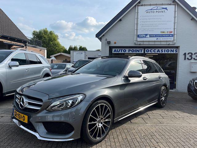 Mercedes-Benz C-klasse Estate 200D AMG-LINE/PANORAMA/NL-AUTO/ZEER COMPLEET