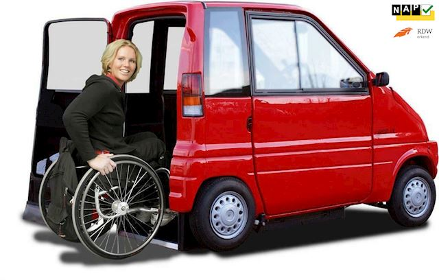 Canta LX , inrij Canta, voor rolstoel of scootmobiel occasion - Autobedrijf Kiewiet (Auto 25)