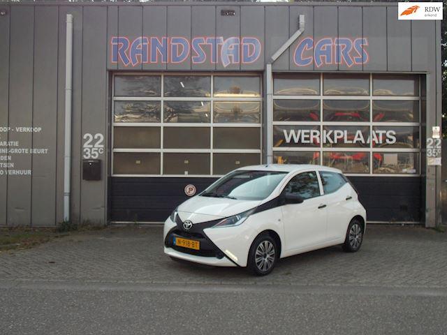 Toyota Aygo 1.0 VVT-i x-clusiv AIrco Elek Pakket 5Deurs 2015bj GARANTIE