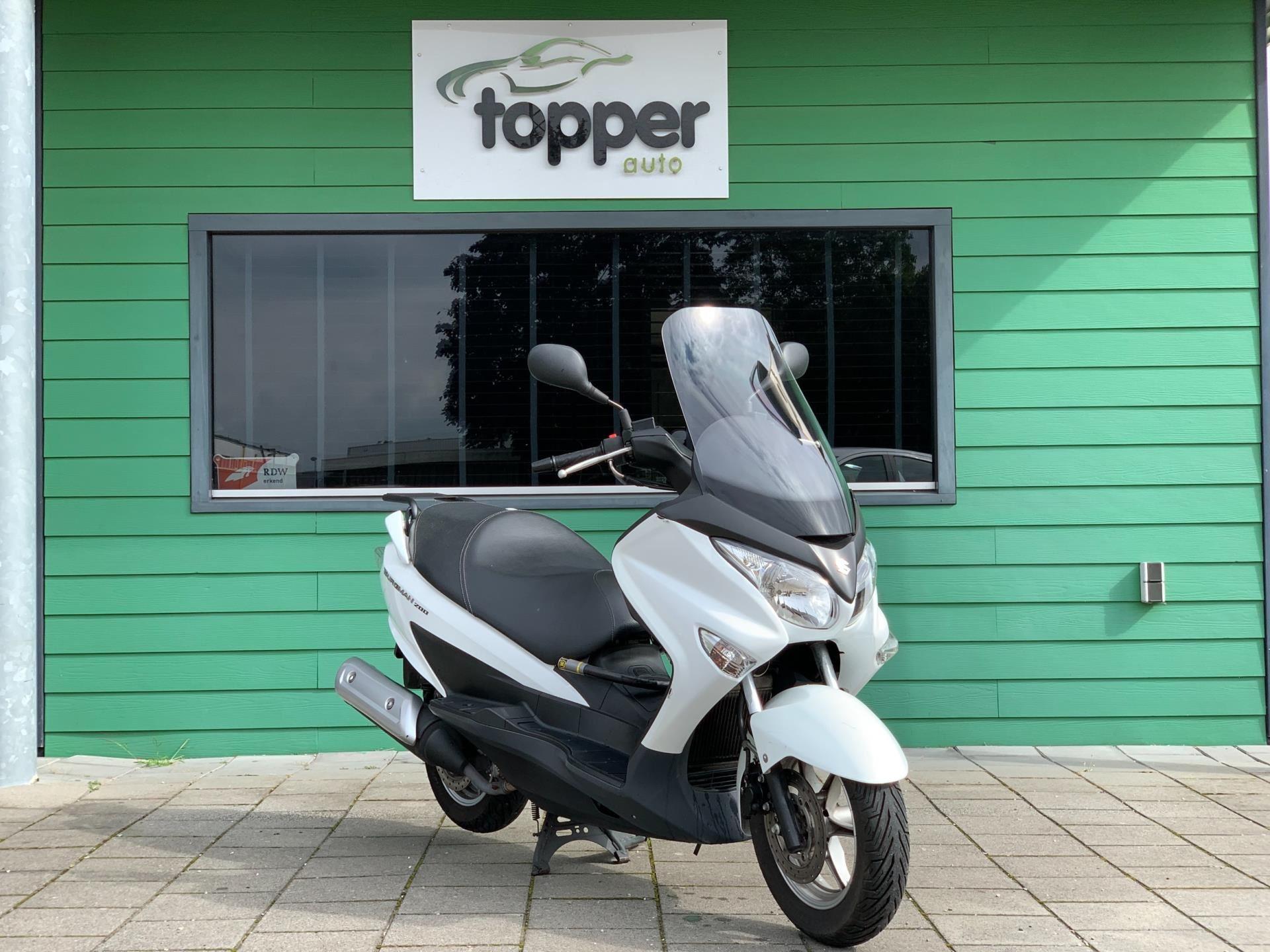 Suzuki Scooter occasion - Topper Auto