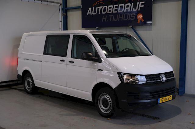 Volkswagen Transporter 2.0 TDI L2H1 DC - Airco, Cruise, Trekhaak. >> NOG 4 DE ZELFDE OP VOORRAAD <<