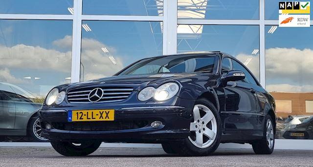 Mercedes-Benz CLK-klasse Coupé 270 CDI Elegance met werk Leer Xenon Elek pakket Navi Opendak