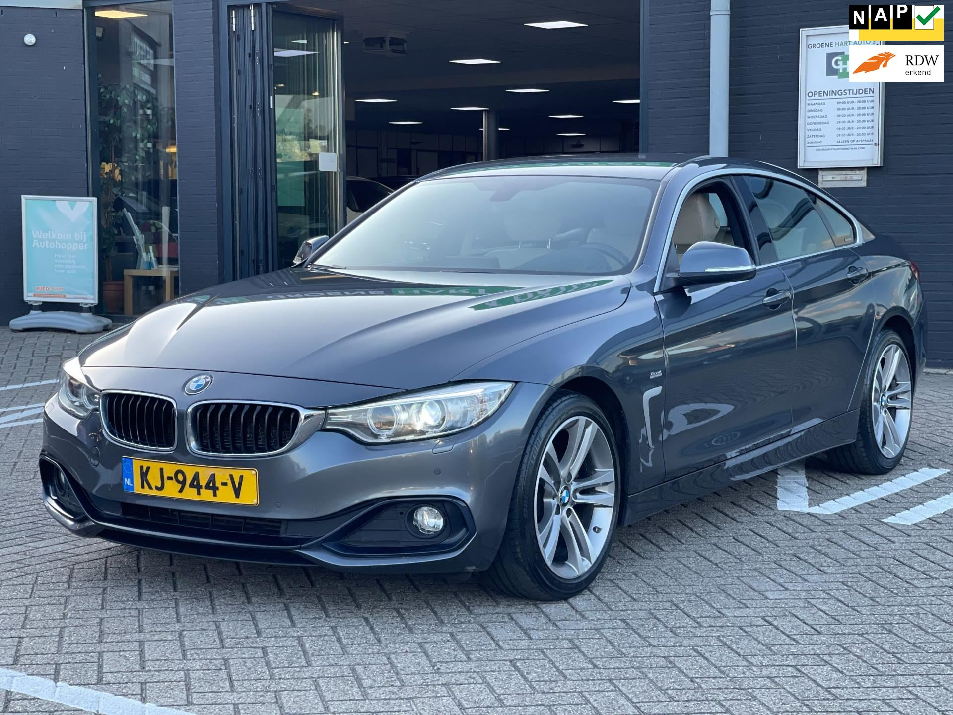 BMW 4-serie Gran Coupé occasion - Groene Hart Auto's