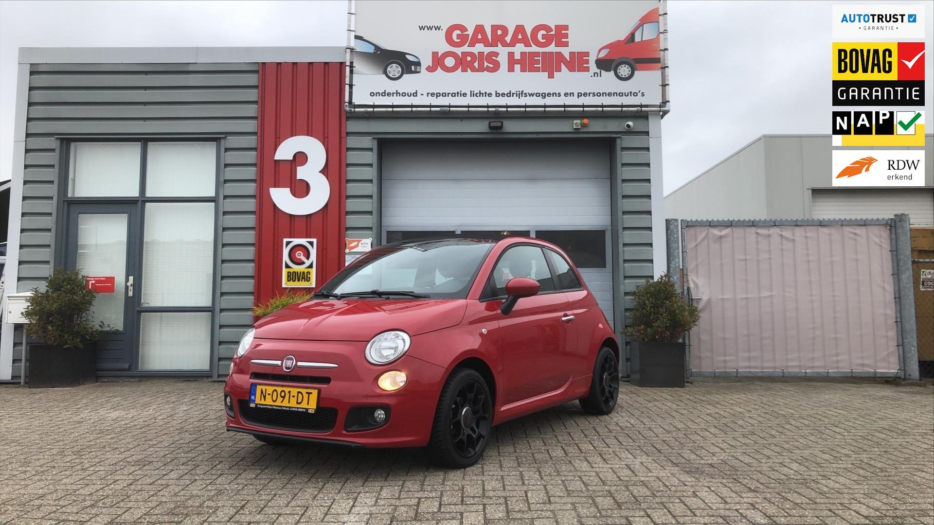 Fiat 500 C occasion - Garage Joris Heijne