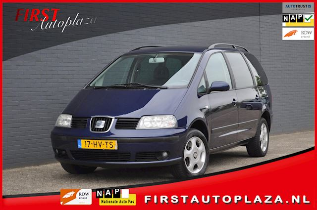 Seat Alhambra 2.8 V6 Signo AUTOMAAT LPG-G3 7-PERSOONS AIRCO/CRUISE NETTE AUTO !