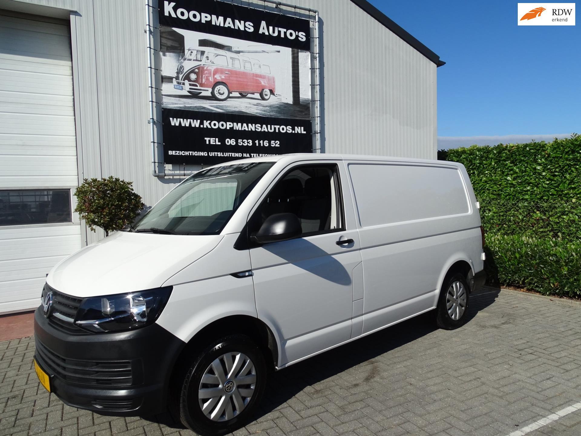 Volkswagen Transporter occasion - Koopmans Auto's