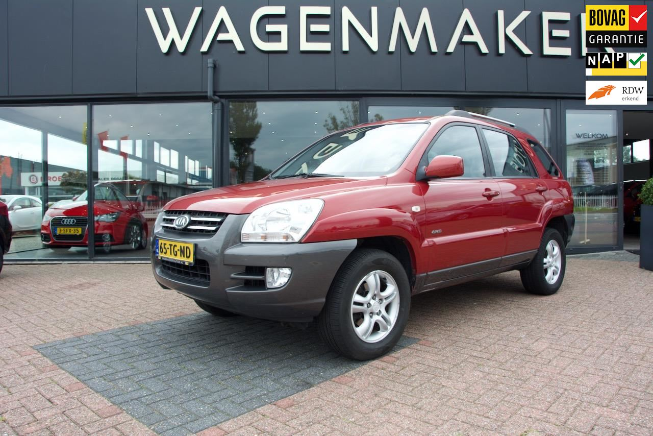 Kia Sportage occasion - Wagenmaker Auto's