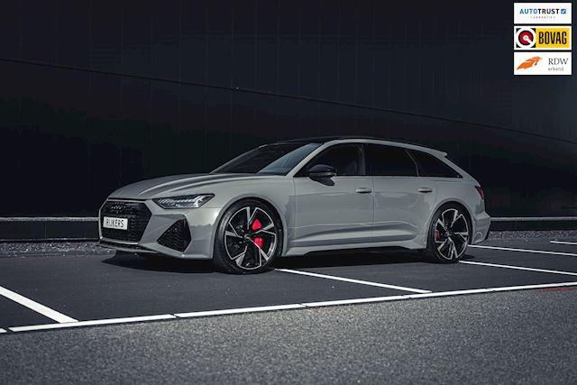 Audi RS6 600PK TFSI quattro Keramisch,B&O, 4-Wielsturing,Dynamic Plus,Panoramadak, Trekhaak,Soft Close,Head Up Display